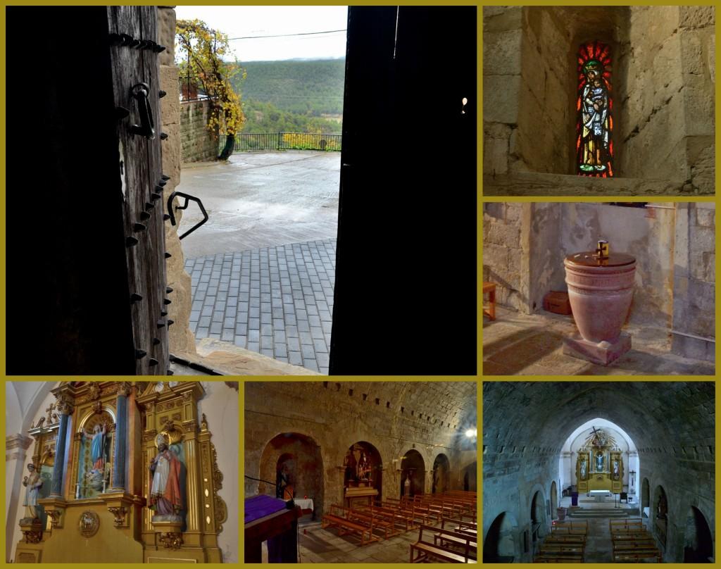 Fulleda turisme esglesia Santa Maria interior