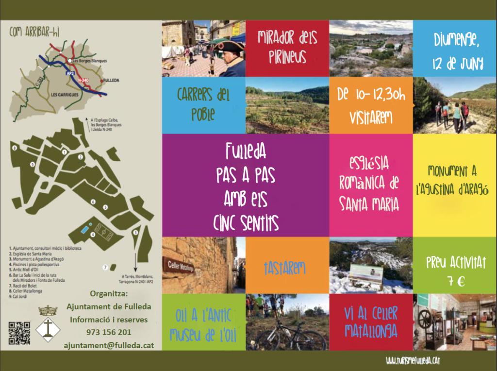 Fulleda pas a pas turisme a les Garrigues